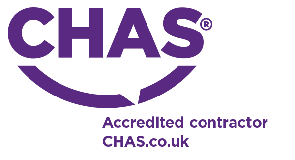 Image: CHAS accreditated contractor