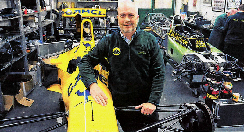 Classic Team Lotus expands