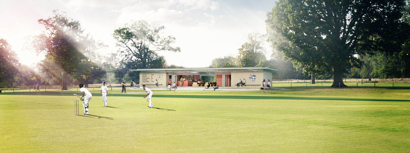 Image: Culford Cricket Pavilion