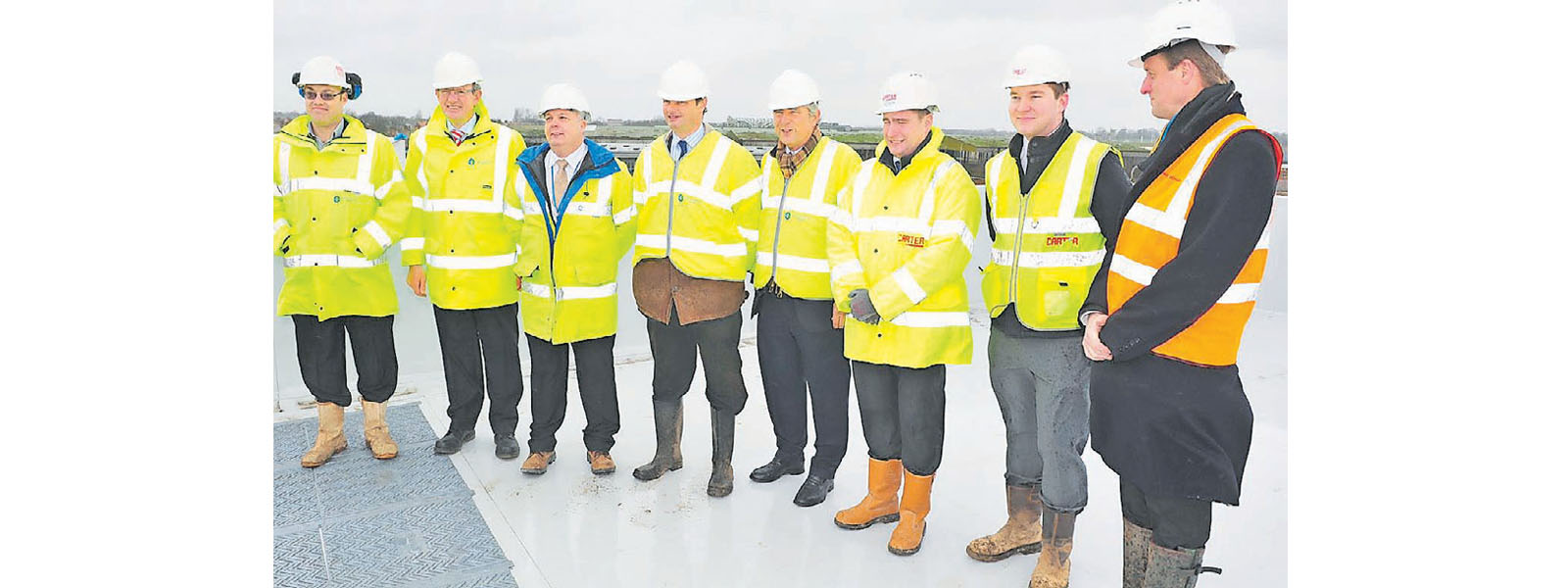 Image: Northumbrian Water topping out