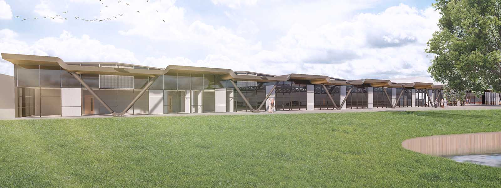 Image: Handover Facility and Clubhouse Lotus