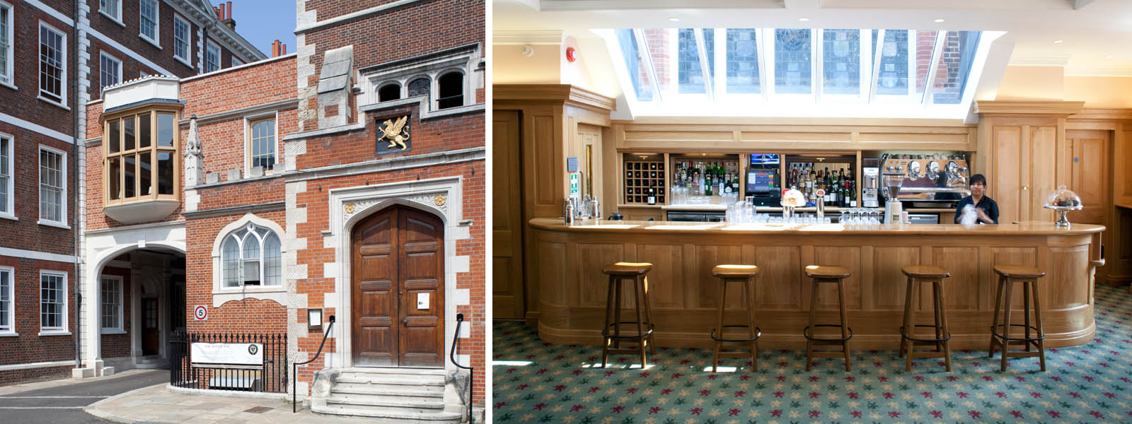 Image: The Bridge Bar Grays Inn